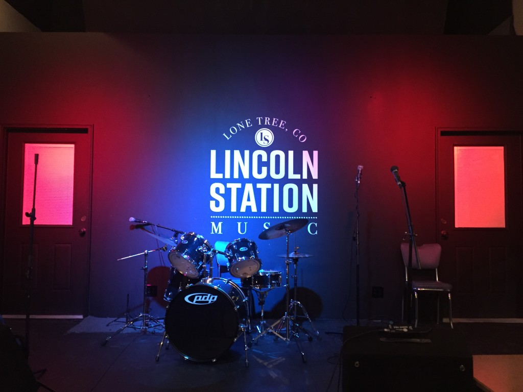 The stage at Lincoln Station