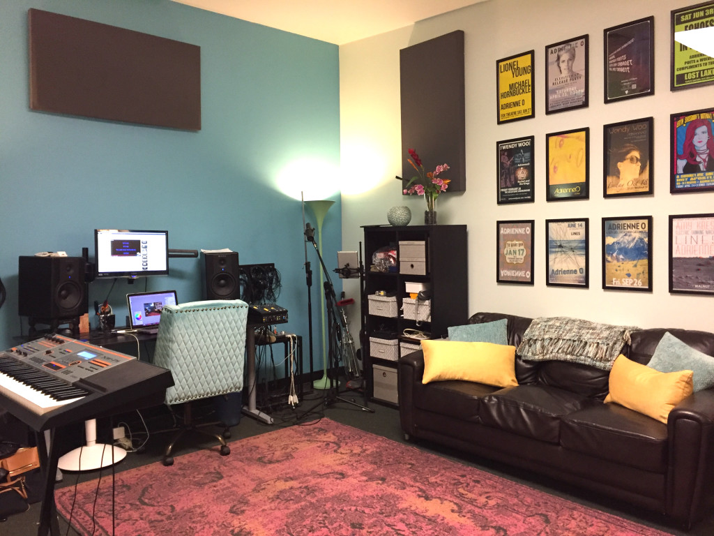 Studio 24 - one of our two Denver vocal studios