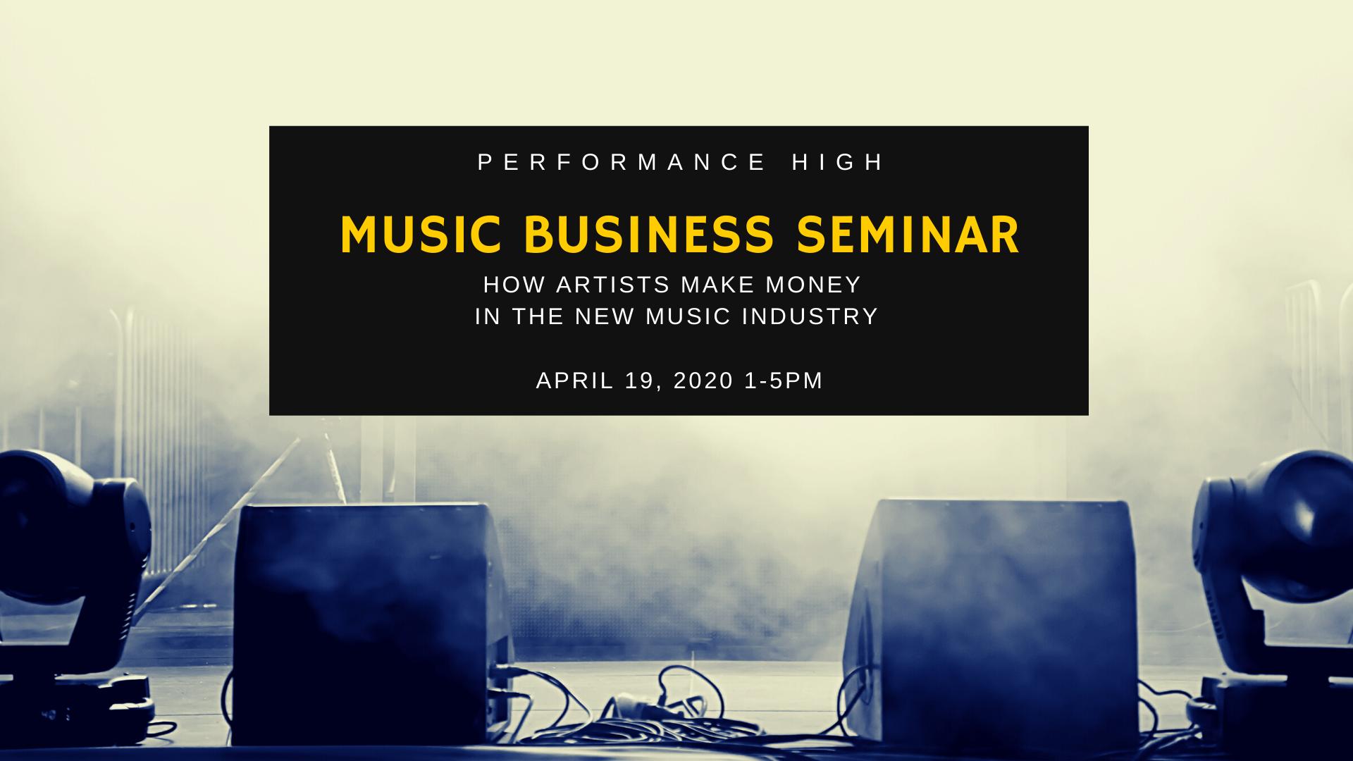 Music Business Seminar