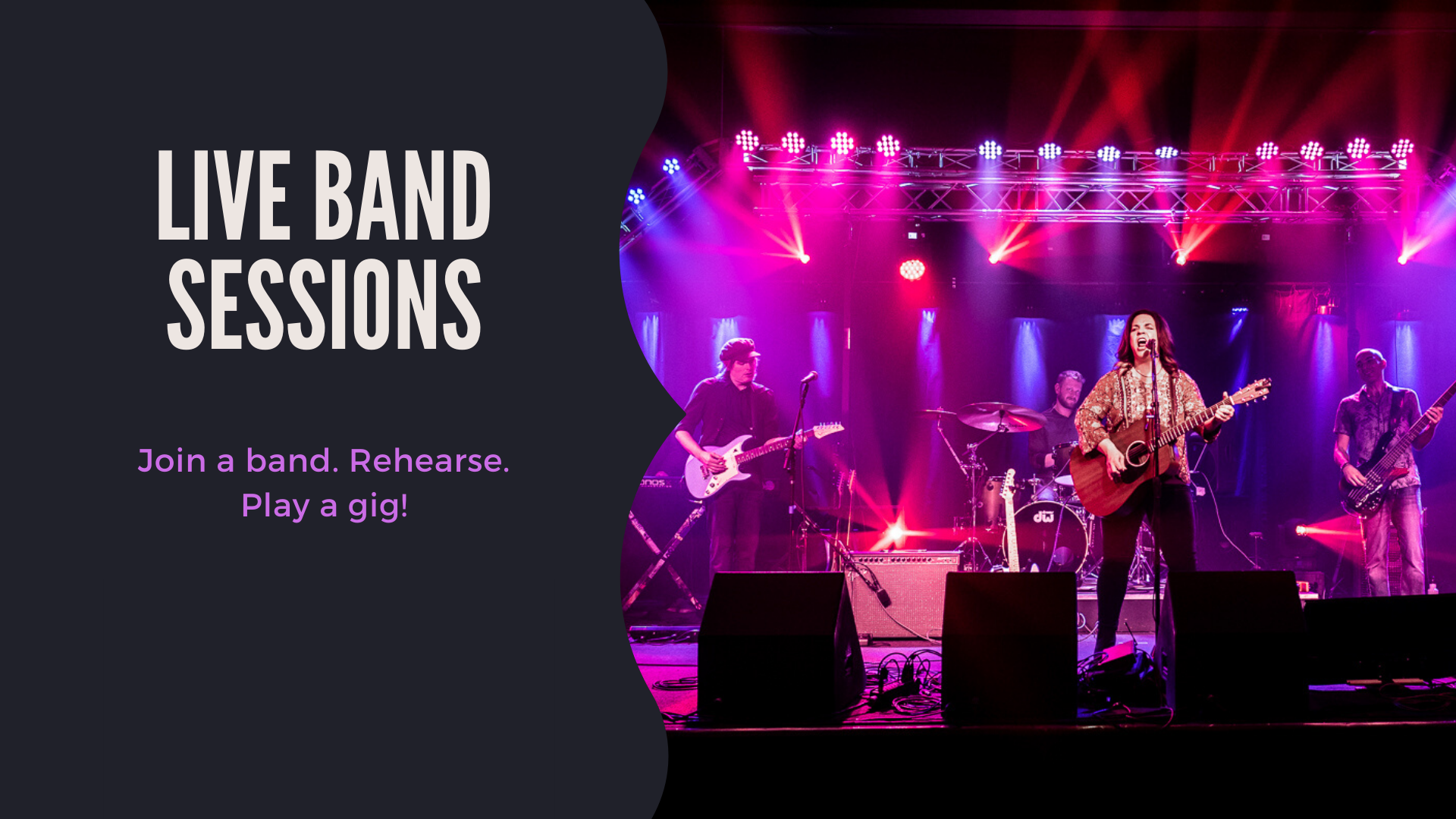 Live band sessions